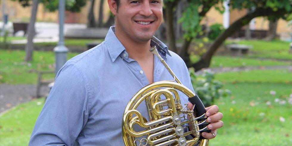 Joshua Pantoja y la formación a los bronces de la OFJC