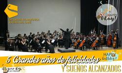 CONCIERTO 5 AÑOS - 2018