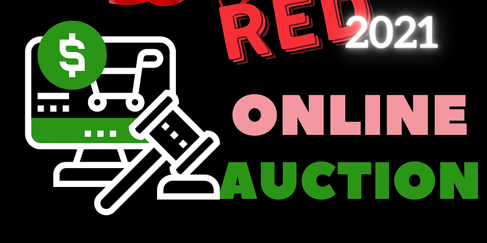 Pink Goes Red Online Auction 2021