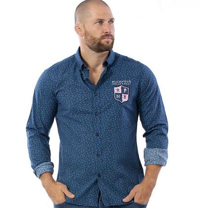 RUCKFIELD :  Chemise rugby bleu Bleu moyen