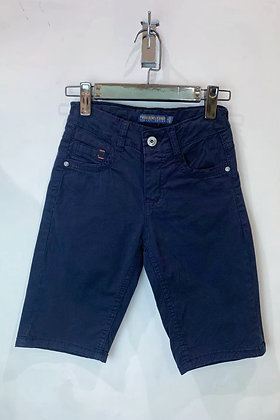 FREE STAR : Short chino bleu marine