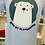 Thumbnail: SERGE BLANCO : Tee-shirt manches courtes ours polaire