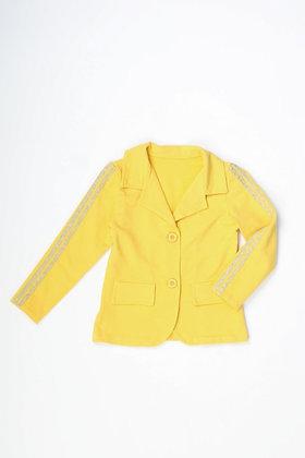 Veste blazer jaune
