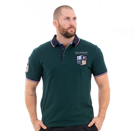 Polo vert foncé we are rugby Vert foret