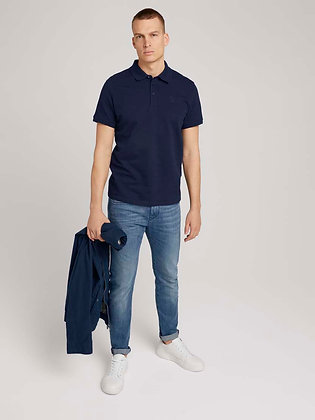 TOM TAILOR : TEXTURED POLO