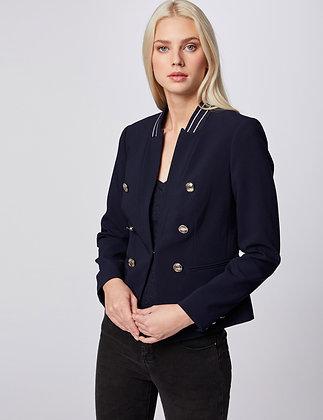 MORGAN : Veste cintrée avec boutons marine femme