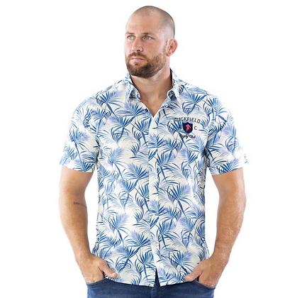 RUCKFIELD : Chemise Rugby à motifs feuilles de palmier