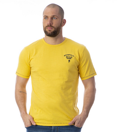 RUCKFIELD : T-shirt jaune rugby