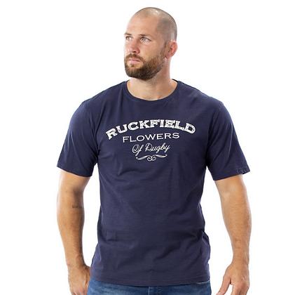 RUCKFIELD : T-shirt flowers