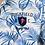 Thumbnail: RUCKFIELD : Chemise Rugby à motifs feuilles de palmier