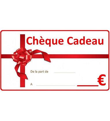 CHEQUECADEAU D'UN VALEUR DE 150 EUROS