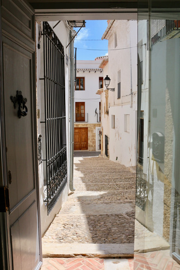 Stepping out of our door right into the heart of Benissa