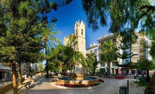 Plaça Rei Jaume I, Benissa