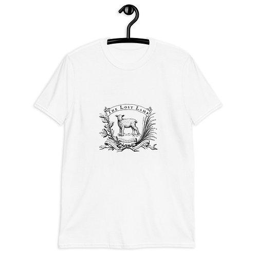 Adult White Lost Lamb Stockbridge Short-Sleeve Unisex Cotton T-Shirt