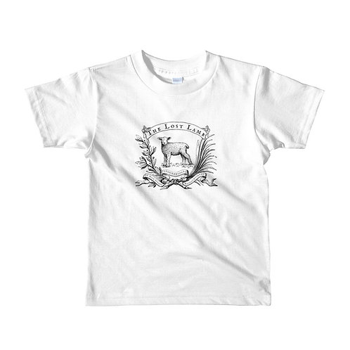 Youth White Short Sleeve T-shirt Lost Lamb Stockbridge