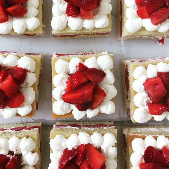 Strawberry Stortcake