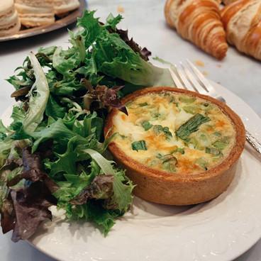 Quiche w/ Side Salad