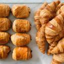 Croissant au Beurre and Pain au Chocolat