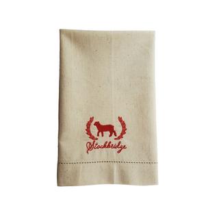 Embroidered Hand Towel Stockbridge Souve