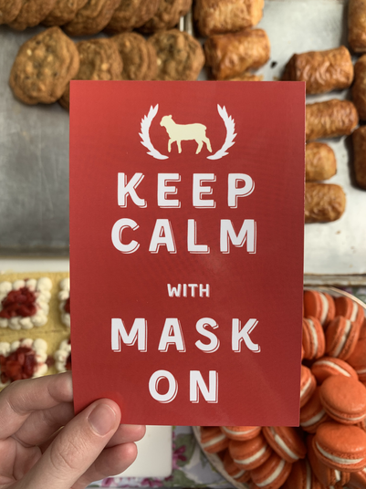 Keep Calm with Mask On