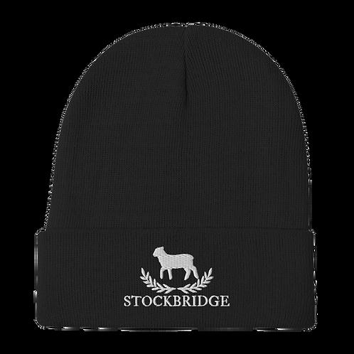 Embroidered Stockbridge Beanie