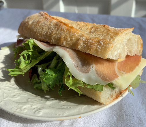 Prosciutto and Gruyere Sandwich