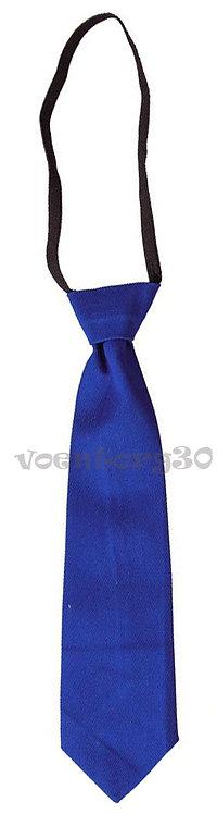 Детские галстук синий