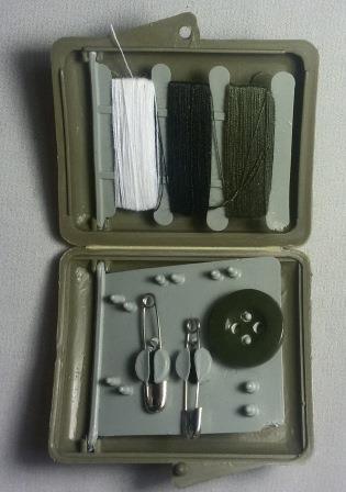 Хозпакет ВС в пластиковом чехле (нитки, иголка)