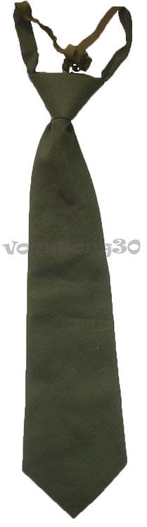 Детский галстук зеленый