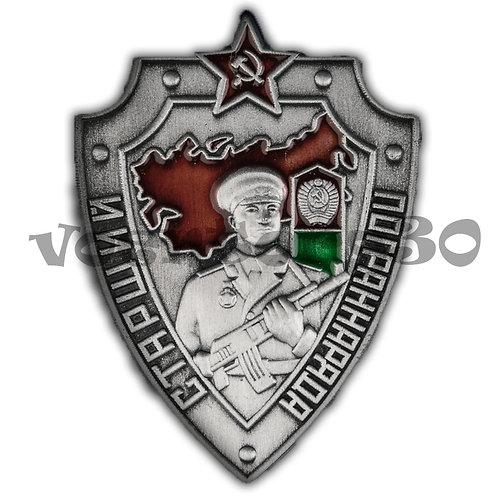 """Знак """"Старший пограннаряда СССР"""""""
