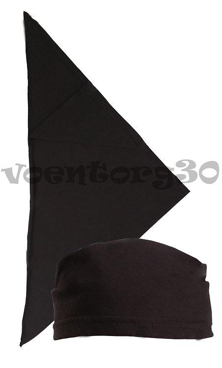 Бандана-косынка Черная