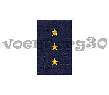 Ф.погоны синие (ст.прапор)