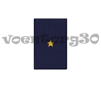 Ф.погоны синие (мл.лейтенант)