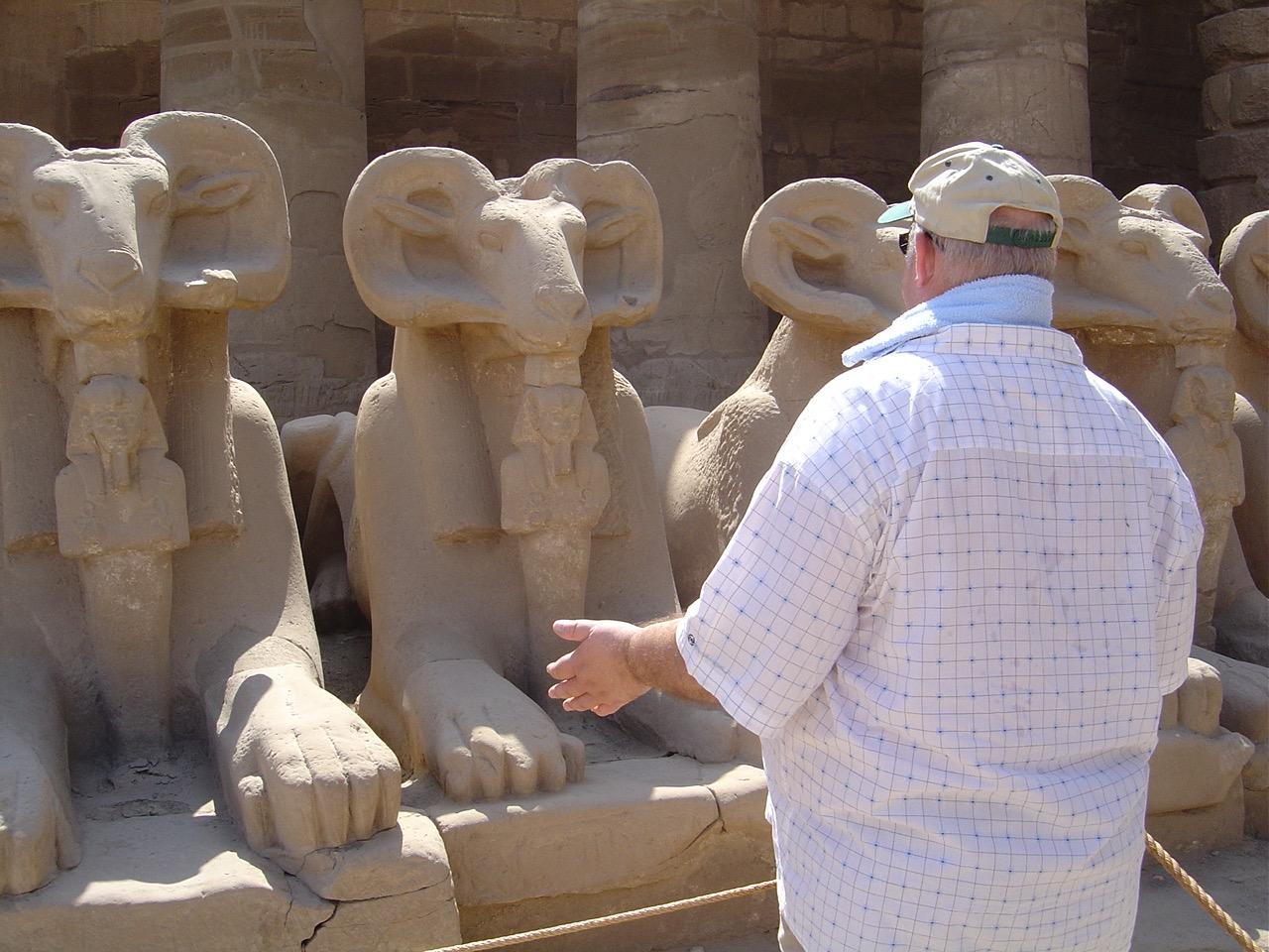 Egypte Karnak 2005
