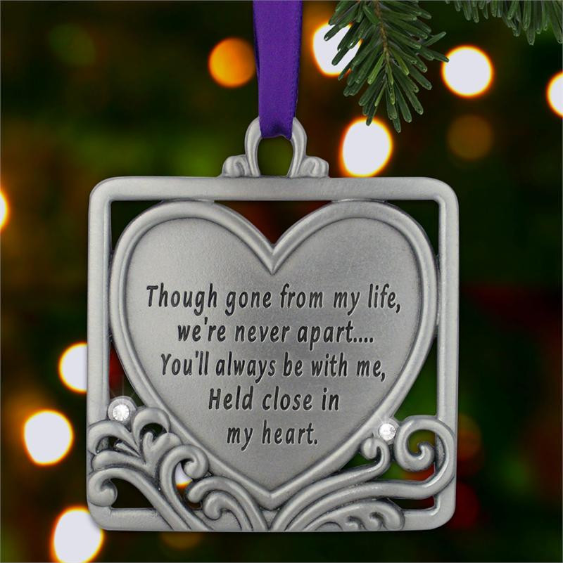 A Tree Ornament Commemorating A Loved One