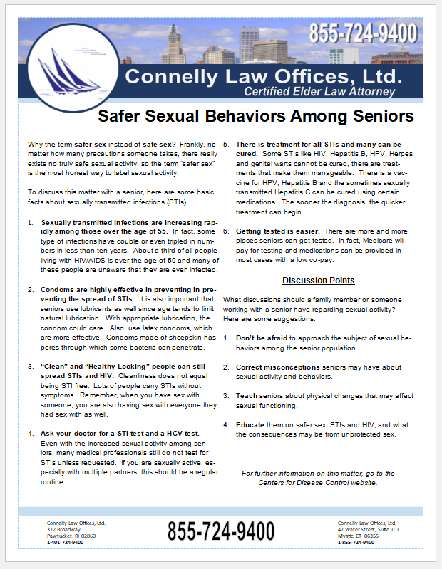 Connelly Law Offices Handout
