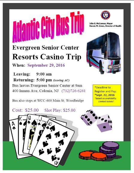 Problem gambling in seniors Casino trip