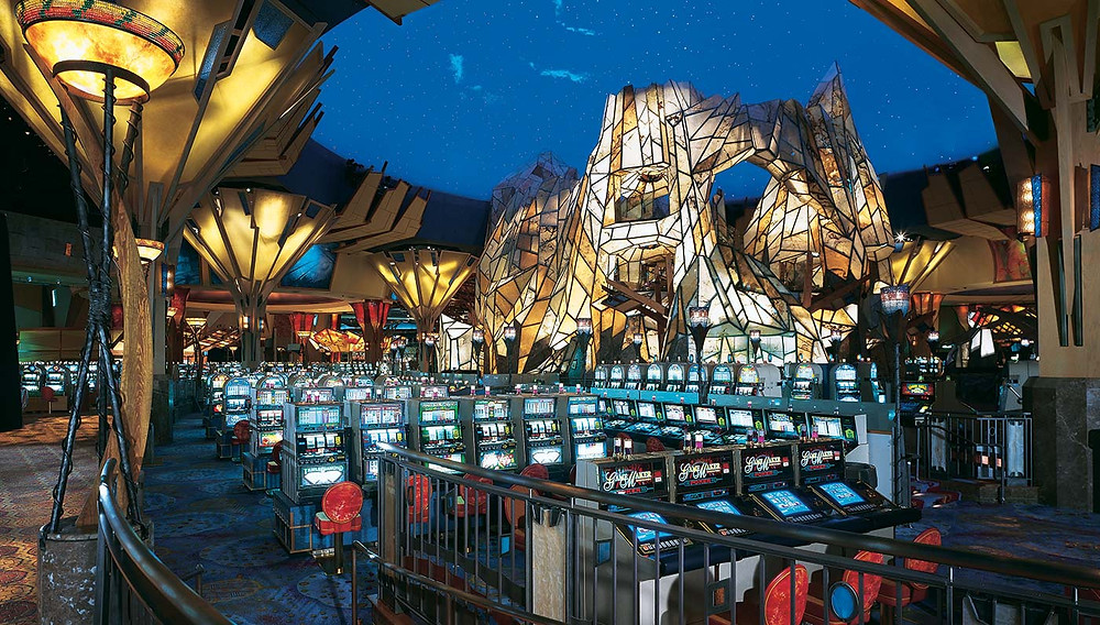 Problem gambling in seniors Casino floor