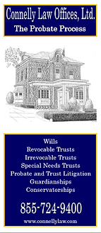 Connelly Law Probate Process brochure