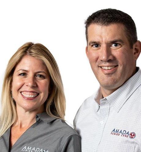 Sheri and Patrick Kennedy, Amada Senior Care