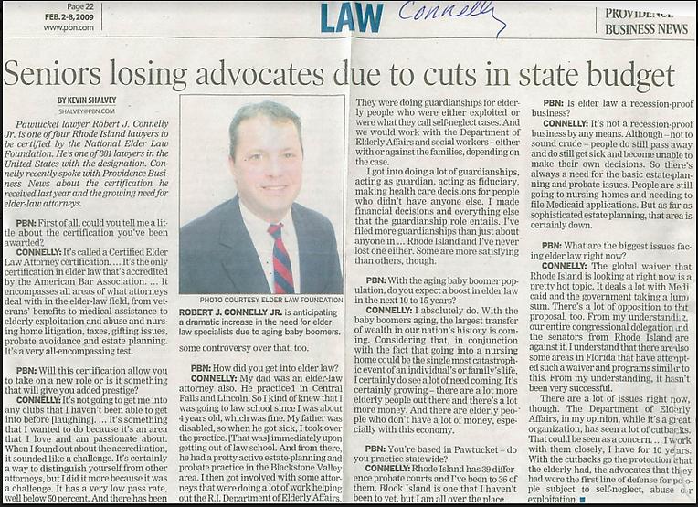 Rhode Island Probate Attorney