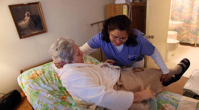 Can healthcare workers meet the physical requirements