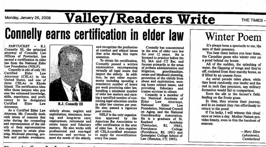 Martha's Vineyard Elder Law