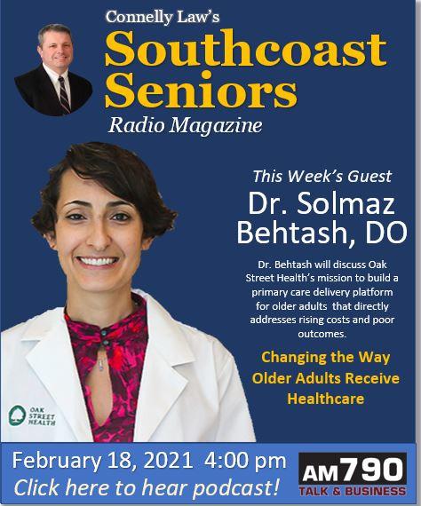 Dr. Solmaz Behtosh, Oak Street Health