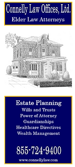 Connelly Law Estate Planning brochure