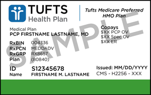 Connelly Law Offices, Ltd. Sample Medicare Advantage Card