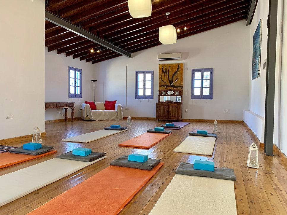 Cyprus yoga holidays