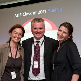 ADE Conference in London (Barbara Zuliani & Sandra Paulhart)