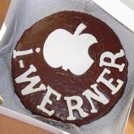 Happy Birthday Cake from Students