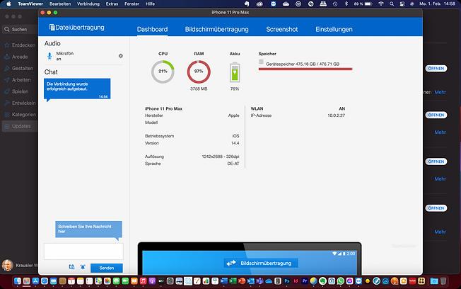 Dateiübertragung von Windows und Mac auf iOS Geräte, Kontakte und Kalender auf Apple Schiene bringen